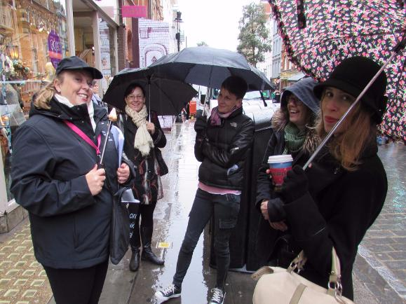 A Nosey Around Soho London Guided Walking Tour