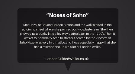 A Nosey Around Soho, a London walk