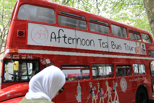 Enjoy Afternoon Tea on the BB Bakery Bus