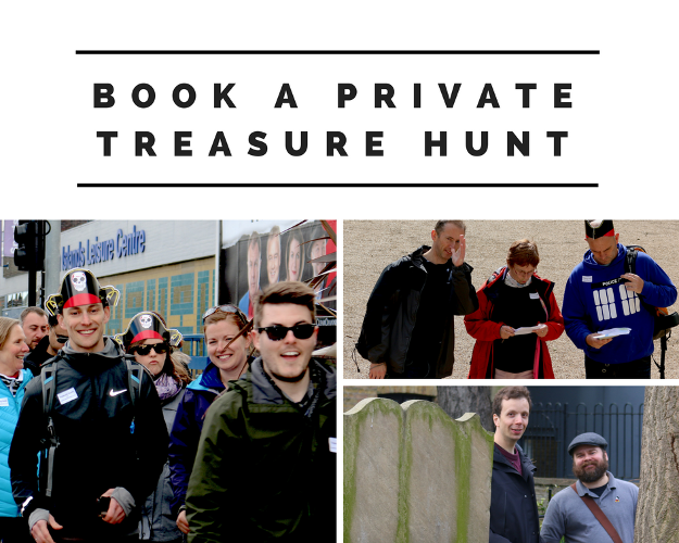 Book a private London Treasure Hunt