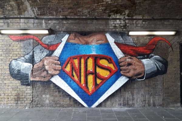 Lockdown Street Art – A Tribute To The NHS