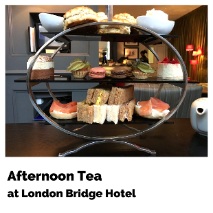 Cocktail Afternoon Tea at London Bridge Hotel