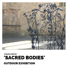 Sacred Bodies exhibition at Nunhead Cemetery by Sara Burgess