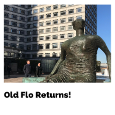 Henry Moore's Old Flo returns to Tower Hamlets