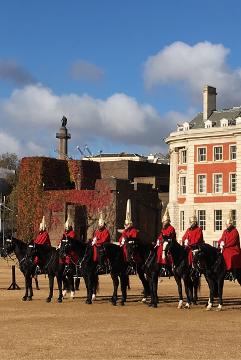 Horse Guards Parade on our half day introductory London tour