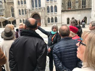 Great Fire of London Guided Walk: Guildhall