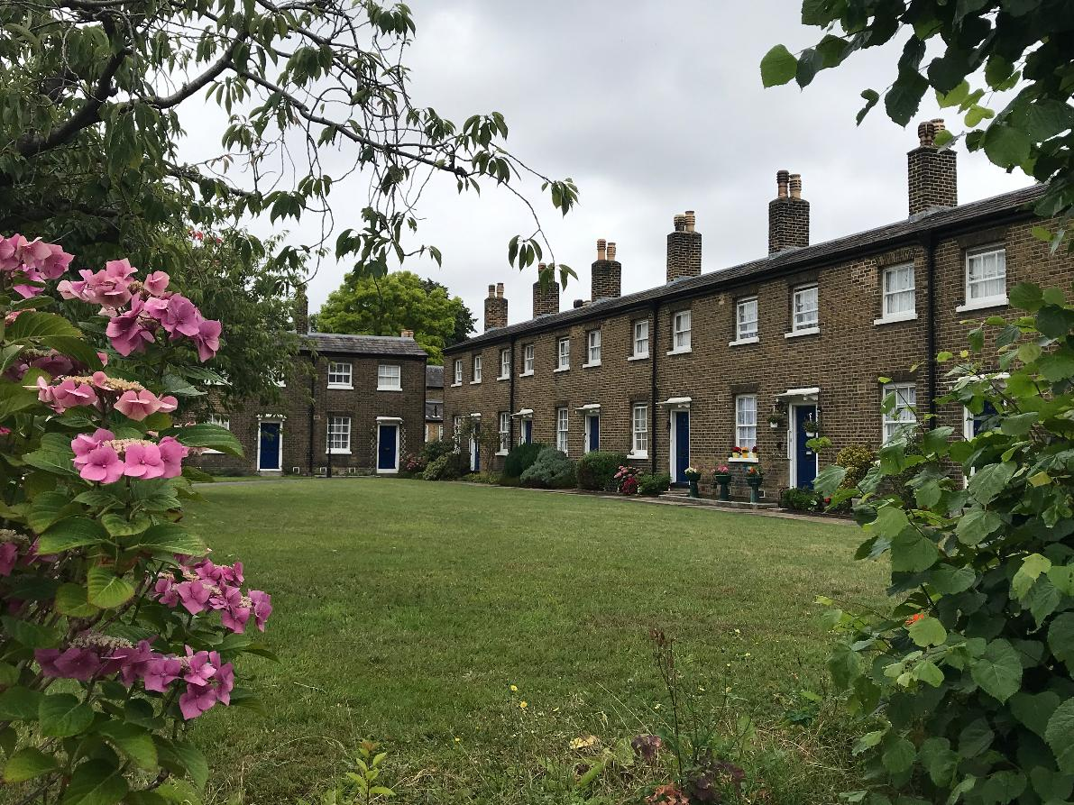 Private Royal Greenwich Walking Tour | Almshouses