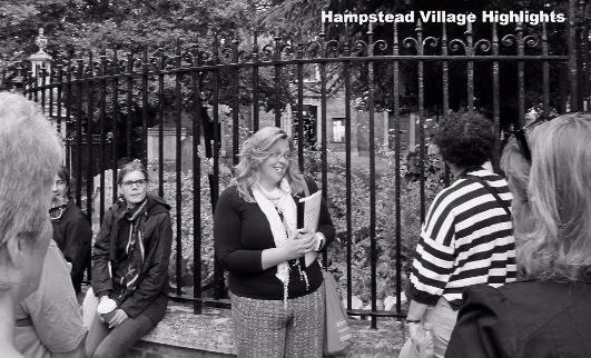 HAMPSTEAD - private tour