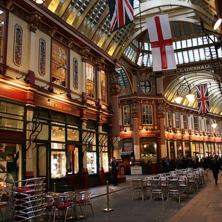Harry Potter London Walks - Leadenhall Market