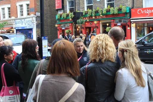 Join a scheduled public guided London walks