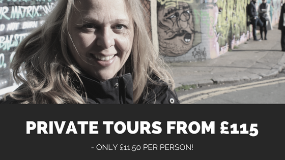 Private tours in London with a qualified guide from £115