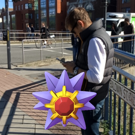 Pokemon Go in Bristol