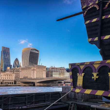 Harry Potter London Walks - Golden Hinde