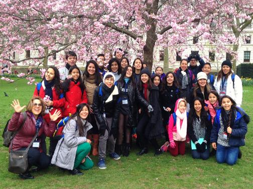Walking tours for international students