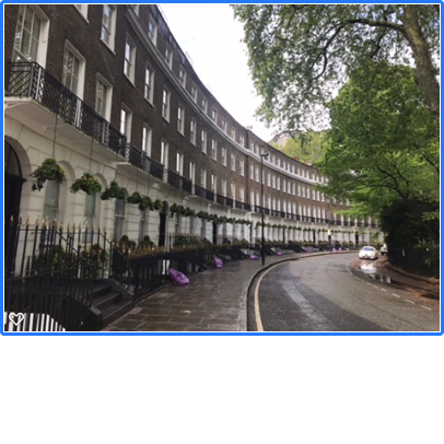 Cartwright Gardens: classical calm off the Euston Road