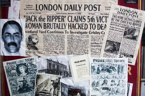 Jack the Ripper Tour 1888  Whitechapel murders Media Coverage