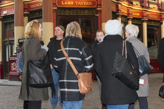 London dragons  - a private walking tour in the City of London