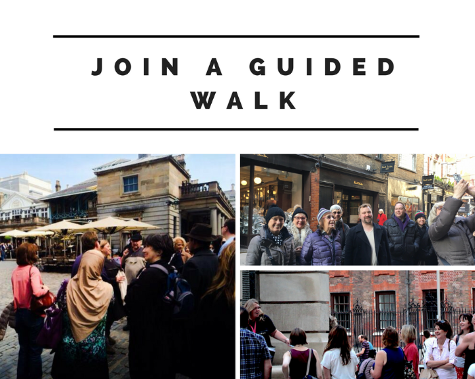 Fun guided walks in London