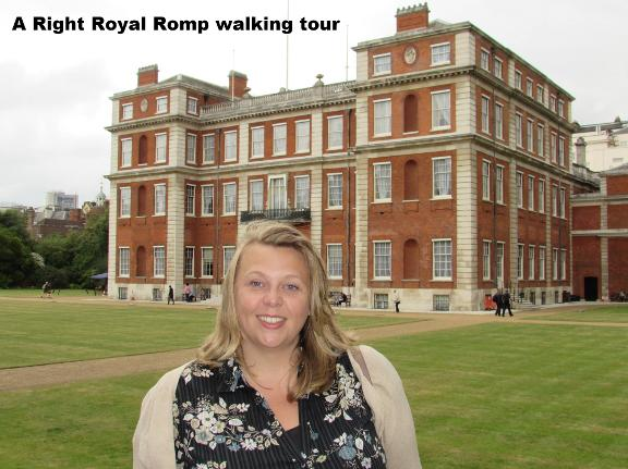 A Right Royal Romp walking tour in London