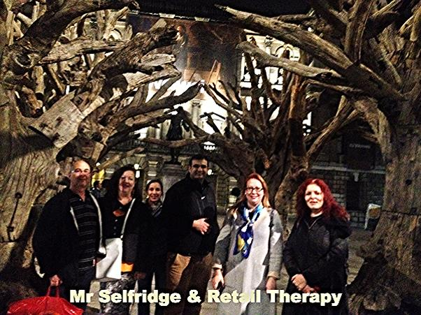 Mr Selfridge and Retail Therapy - a private London guided walk