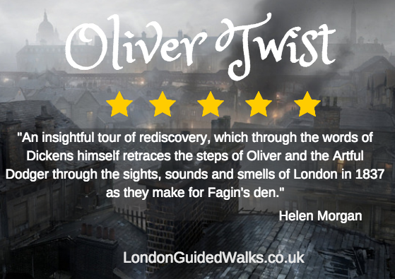 Oliver Twist private Victorian London walking Tour