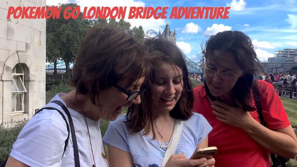 Pokemon Go Adventure London Bridge