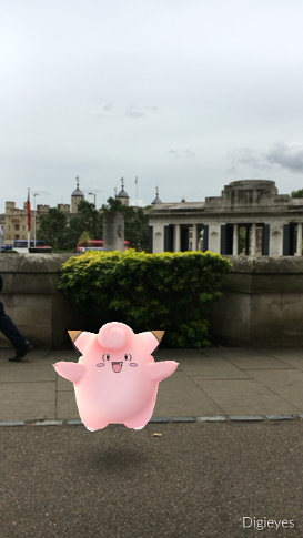 Pokemon Go London Adventures