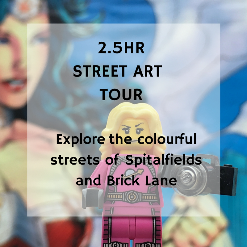 private 2.5hr street art walking tour