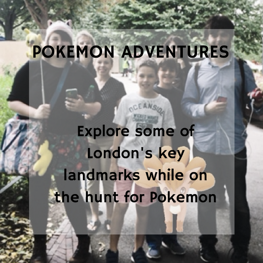 Pokemon Go Family-Friendly Tour