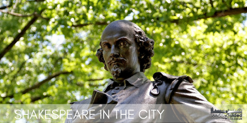 Shakespeare in the City guided walk in London