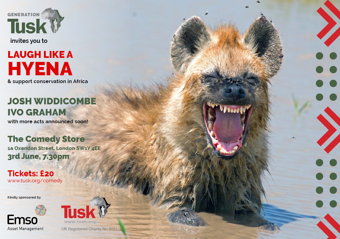 Laugh Like a Hyena - 3 June